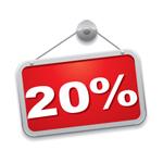 Партнерская комиссия теперь 20%