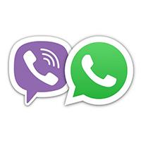 Новые средства связи Viber и WhatsApp