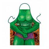 Прикольный фартук - Зеленый мачо / The Incredible цена фото