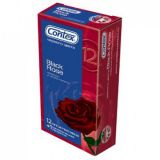 Condoms CONTEX Black Rose, 12 PCs