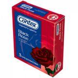 Презервативы CONTEX Black Rose, 3 шт
