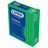 CONTEX condoms Dotted, 3 PCs