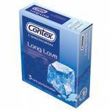 Condoms CONTEX Long Love, 3 PCs