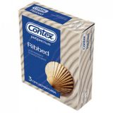 The CONTEX Ribbed condom, 3 PCs
