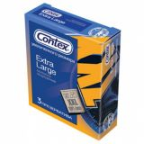 Condoms CONTEX Extra Large (XXL), 3 PCs