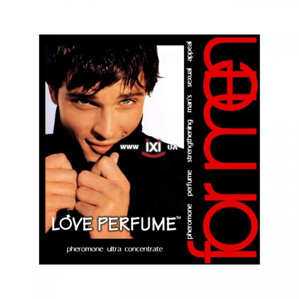 Мужской концентрат феромонов Love perfume, 10 мл.
