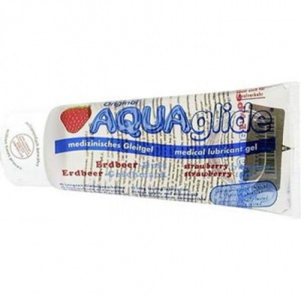 Гель AquaGlide Strawberry