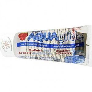РАСПРОДАЖА! Гель AquaGlide Strawberry