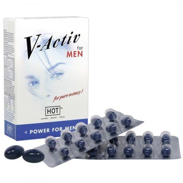 РАСПРОДАЖА! Капсулы для супер потенции V-Activ, 20 капсул