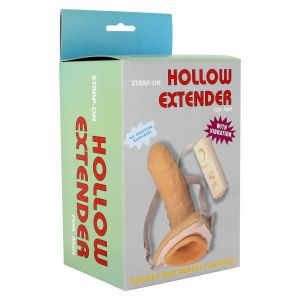 Strap on hollow Extender. Артикул: DEL3978