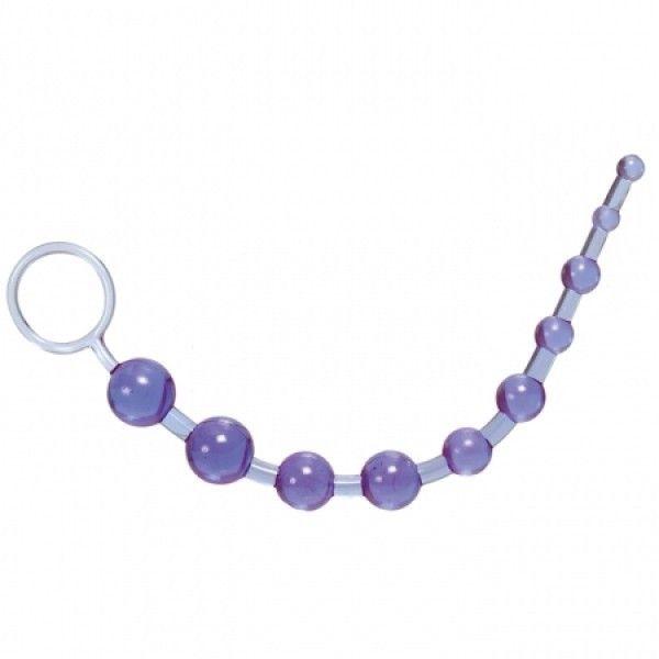 Анальный стимулятор фиолетовый