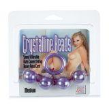 Анальные пластиковые шарики Acrylite Beads, средние
