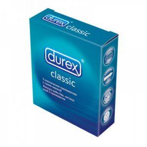 Condoms Durex Classic, 3 PCs. Артикул: DUR3CLA