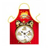 SALE! Funny apron - its Time to act / Time to make love
