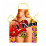 SALE! Erotic apron - Girl with guitar / Sex drugs