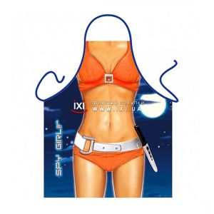 SALE! Erotic apron - a Girl spy / Spy Girl