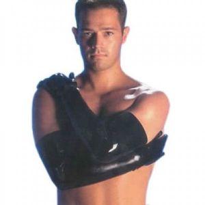 Мужские длинные перчатки - Одежда (латекс, винил)