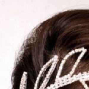 Белое романтическое украшение для волос - Заколки для волос