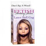 РАСПРОДАЖА! Кляп Latex Ball Gaq по оптовой цене