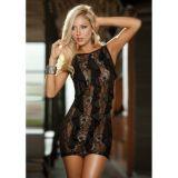Сексуальное полупрозрачное мини платье. по оптовой цене