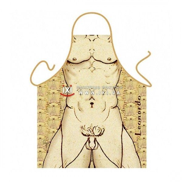 РАСПРОДАЖА! Эротический фартук - Леонардо / Leonardo da Vinci