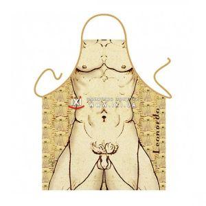 РАСПРОДАЖА! Эротический фартук - Леонардо / Leonardo da Vinci - Подарки