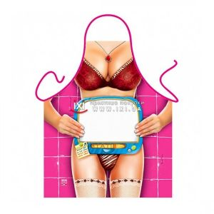 SALE! Erotic apron - Jelaniya / Personalizable White Board Woman