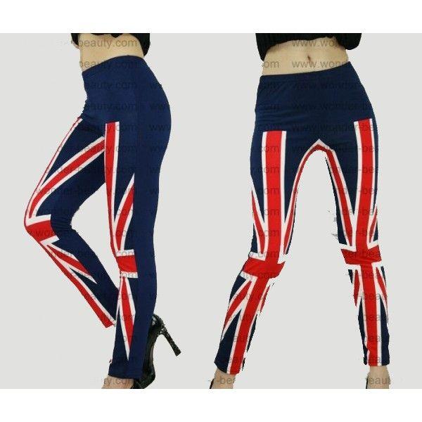 Леггинсы - Великобритания флаг
