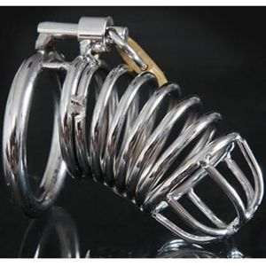 Steel chastity device Diamondring De Luxe