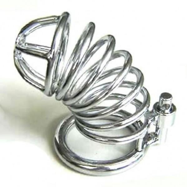 Steel chastity device Diamondring De Luxe. Артикул: IXI11684