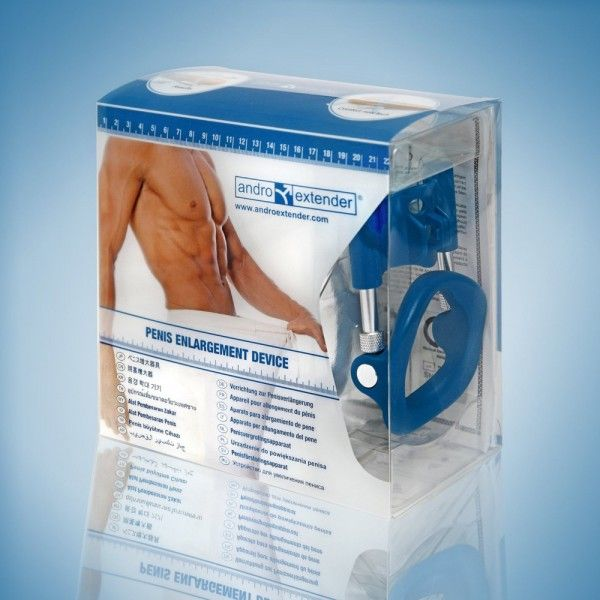 SALE! A medical device for penis enlargement Androextender Blue