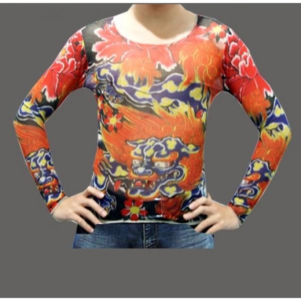T - shirt Fire dragon. Артикул: IXI11731