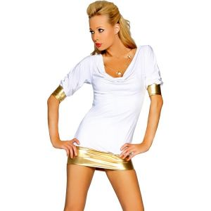 Облегающее мини-платье для клубной вечеринки - Платья