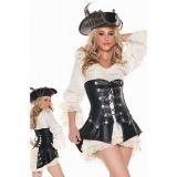 Sexy pirate carnival costume