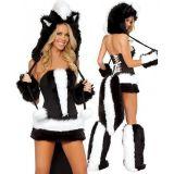 Sexy skunk costume