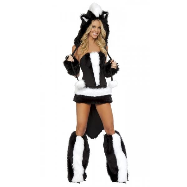 Sexy skunk costume. Артикул: IXI12035