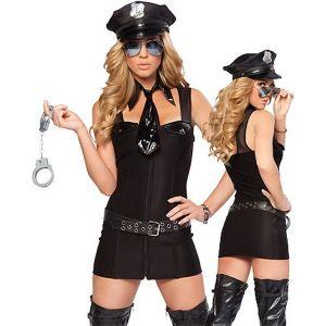 Сексуальный костюм полиции - над законом - Карнавальные костюмы