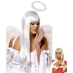 SALE! Wig white long