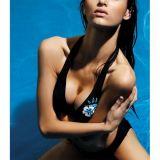 Сексапильный раздельный купальник черного цвета по оптовой цене