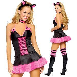 Розовенький костюм кошечки - Карнавальные костюмы
