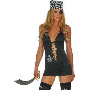 Костюм секси пиратки - Карнавальные костюмы