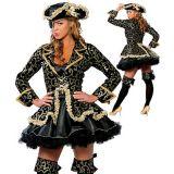 Роскошный пиратский костюмсо шляпой по оптовой цене