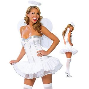 The angel costume
