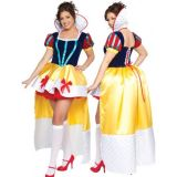 A snow white costume from tales