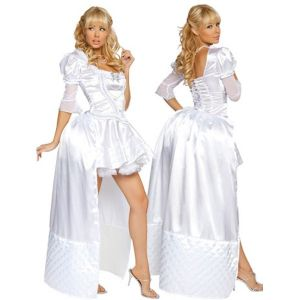 Costume white Queen