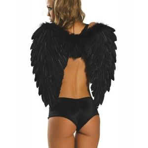 Перьевые крылья Ангела - Карнавал аксессуар