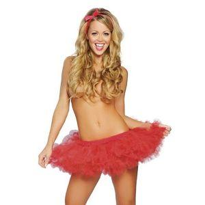Сексуальная красная юбка - Юбки и подъюбники