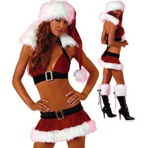 Секси рождественский костюм - Игровые костюмы