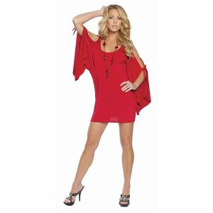 Bodycon red dress. Артикул: IXI12740