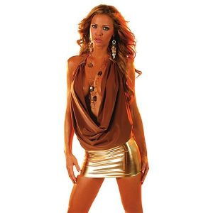 SALE! TraceVue mini dress brown